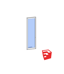 Series 650 DOOR SketchUp